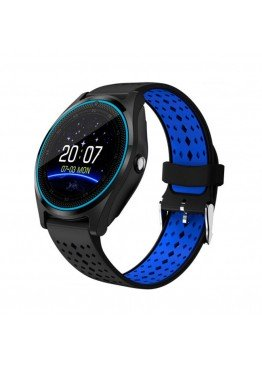 Smart Watch V9 Black Blue