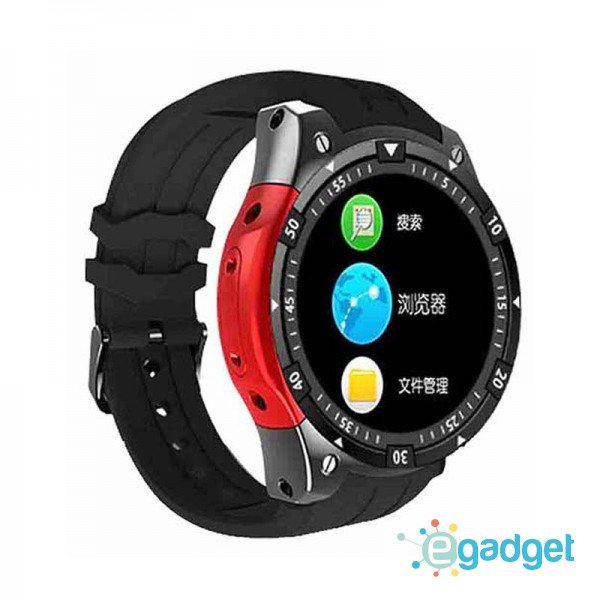 Smart Watch X100 Black Red Android