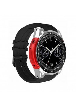 Smart Watch X100 Silver Red Android
