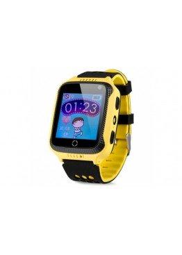 Smart Baby Watch Q529 Yellow с камерой и фонариком