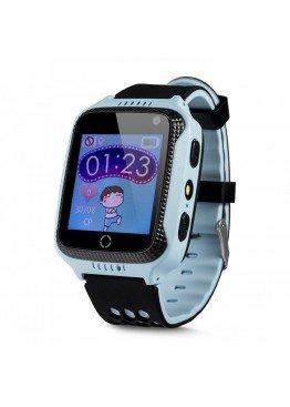 Smart Baby Watch Q529 Blue с камерой и фонариком