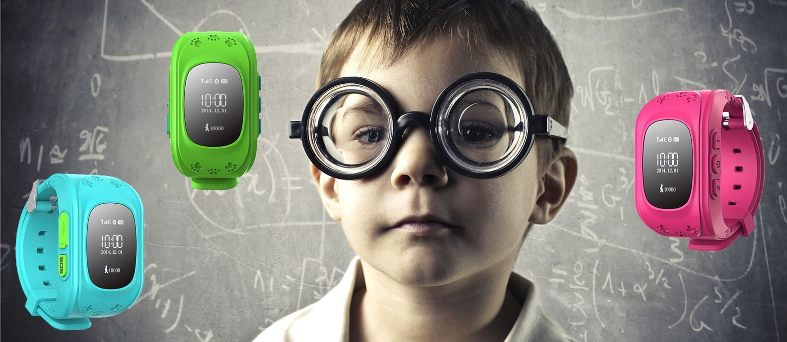 GPS детские часы