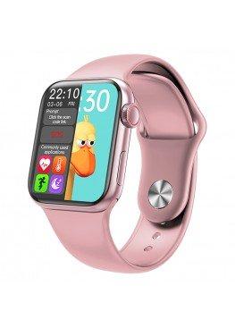 Смарт часы Smart Watch IWO 12 high watch Original  Rose Gold