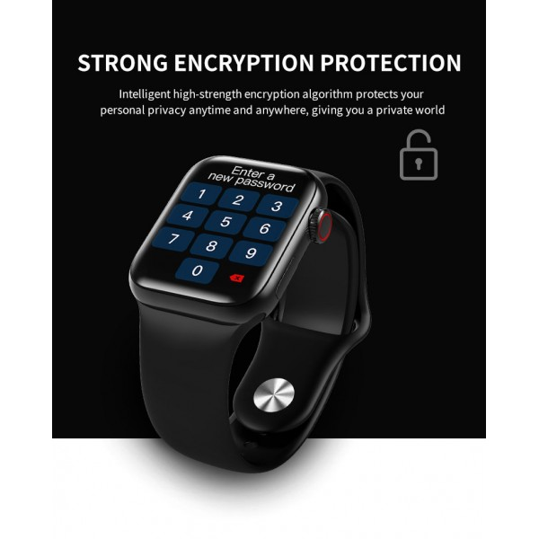 Smart Watch IWO 12 high watch Original   Black