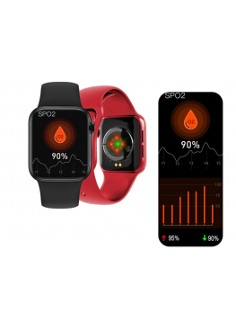 Смарт часы Smart Watch IWO 12 high watch Original  Red