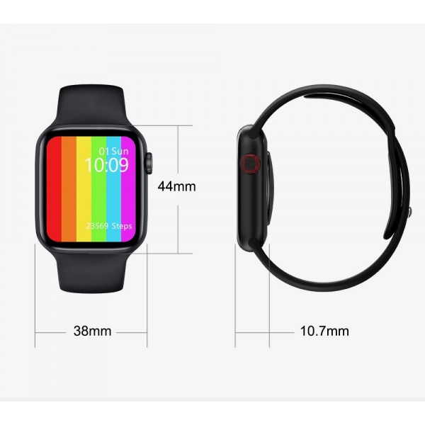 Smart Watch IWO 12 Pro MAX Original  Black